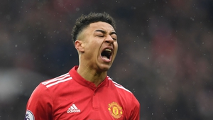 The tweet was sent from Lingard's account while he was at the Munich service at Old Trafford