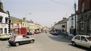 Arklow's Main Street in 1992. Photo: RTÉ Archives