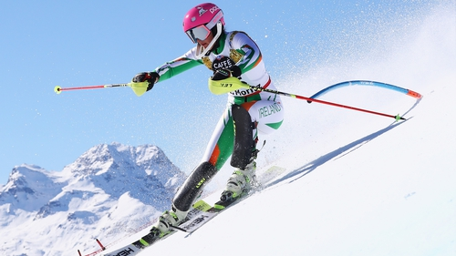 Tess Arbez was set to race in the early hours of Monday morning