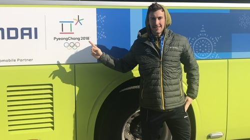 Illness forced Thomas Westgard out of the 50k Cross Country Ski