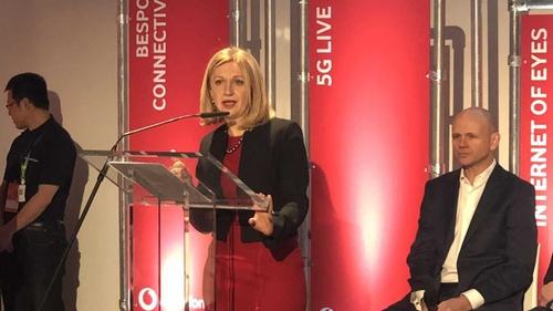 Madalina Suceveanu, Vodafone Ireland's chief technology officer