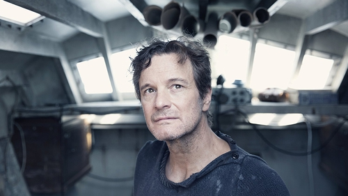 Colin Firth jumps from the screen as Donald Crowhurst