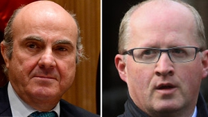Spain's economy minister Luis de Guindos and Central Bank Governor Philip Lane are both running for the vice president's job at the ECB