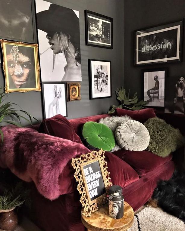 @jazzierere instagram dark decor