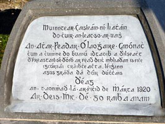 An Dr. Pat Ó Briain,Cuan Ó Seireadáin;An t-athair Peadar Ó Laoghaire