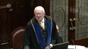 The Leas Ceann Comhairle said the deputies were circumventing the regulations of the house