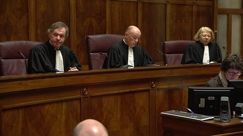 The Supreme Court ruling was delivered by Mr Justice Donal O'Donnell (C)