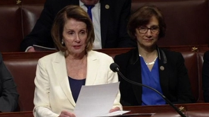 Nancy Pelosi made history by delivering the longest address to the chamber for at least 108 years