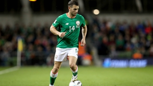 Wes Hoolahan won 43 caps for Ireland in an international career that began in 2008