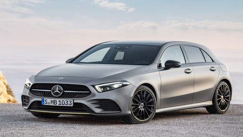 The Mercedes A-Class is due to arrive in Ireland in summer.