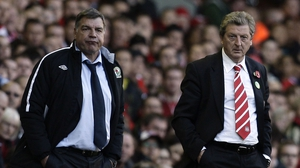 Allardyce and Hodgson on the sideline in 2010