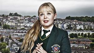 Nicola Coughlan in Derry Girls