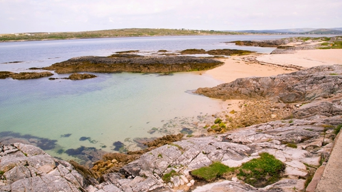 A stretch of maerl beach in Co Galway