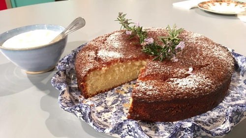 Eunice Power's Lemon and Olive Oil Cake