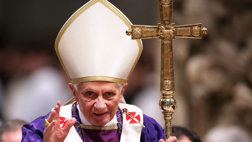 The retired pope has defended clerical celibacy