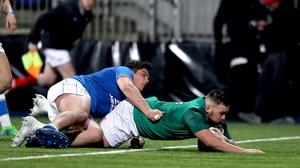 Jack Aungier starts for Ireland against England