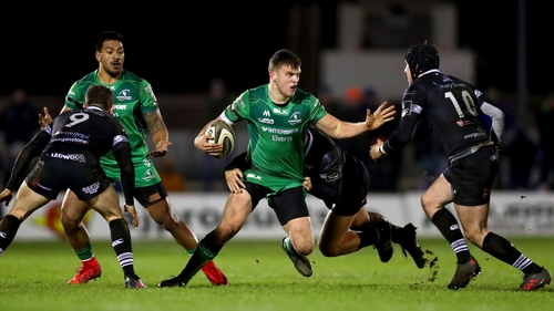 Tom Farrell proved inspirational as Connacht beat Ospreys