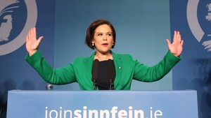 Mary Lou McDonald was the sole contender for the job
