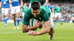 Conor Murray scored a try as part of a tour de force against the Azzurri
