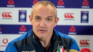 Conor O'Shea still sees a bright future for Italy