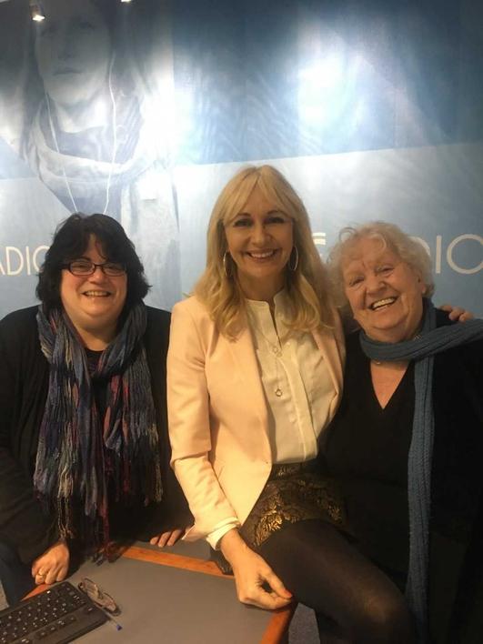 Nell McCafferty, Micheline Sheehy Skeffington, Mary McAuliffe, Margaret Ward
