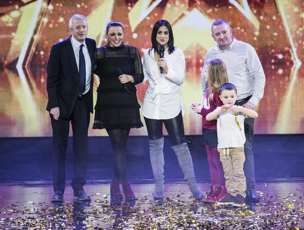 Linda McLoughlin on Ireland's Got Talent