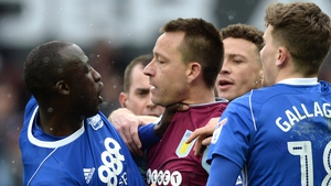 No go for the former Chelsea and Villa player