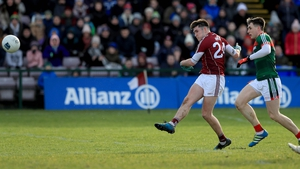 Galway's Barry McHugh scores the game's only goal