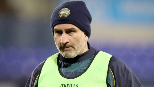 Stephen Wallace was unhappy with Offaly's game against Derry being called off so close to throw-in