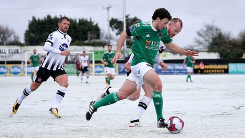 Barry McNamee scored Cork City's equaliser in their 4-2 comeback victory in the President's Cup at Oriel Park on Sunday afternoon.