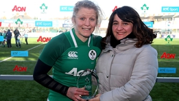 Claire Molloy: Player of the match   Six Nations Extras