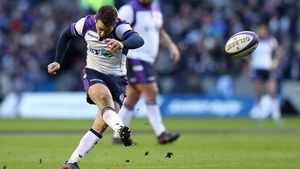Greig Laidlaw was in-form from the tee