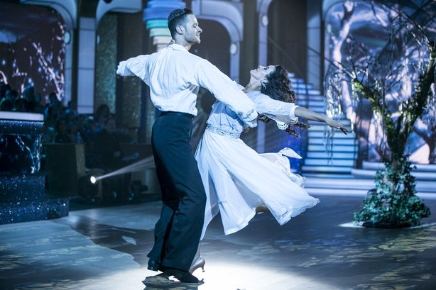 Deirdre O'Kane came second on the leaderboard after Switch-Up Week on Dancing with the Stars