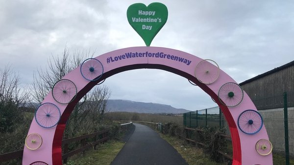 The improvement of the 2.1km stretch is also expected to help provide future greenway links to New Ross