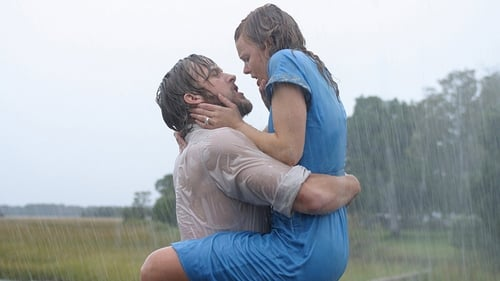 Ryan Gosling and Rachel McAdams in The Notebook - which has to be one of the most romantic movies ever made