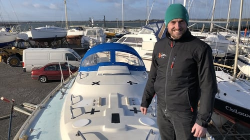 Gregor McGuckin must sail without modern technology or the benefit of satellite based navigation aids.