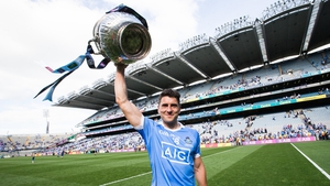 Bernard Brogan goes down as a Dublin great