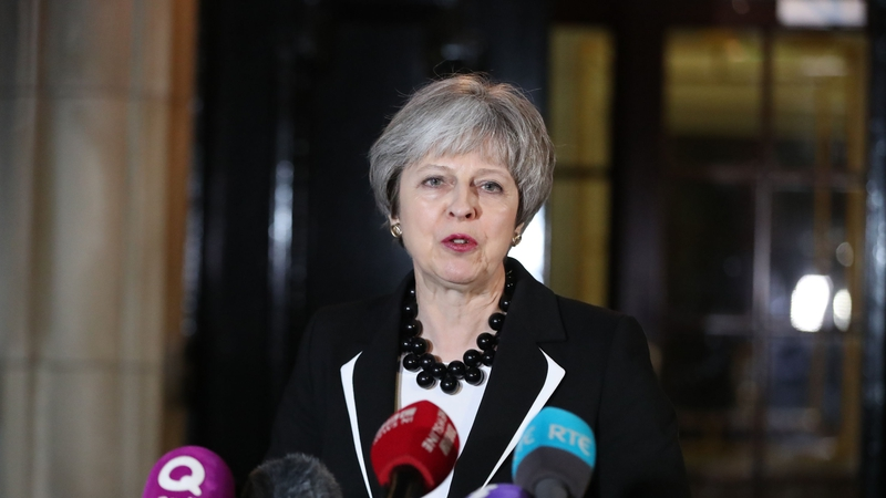 May Says There Is Basis For An Agreement At Stormont
