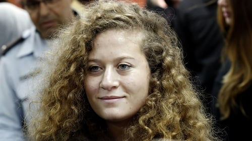Ahed Tamimi is being tried as a minor