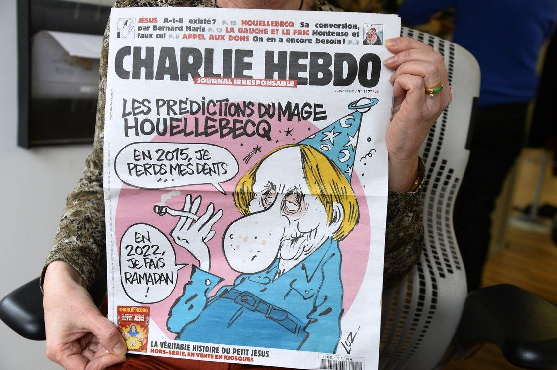 Image - A January 2015 issue of Charlie Hebdo.