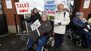 It is estimated there are 7,000 polio survivors living with the disease in Ireland