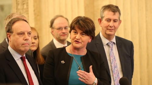 Arlene Foster said  if devolution is restored she expects to be first minister of the new administration