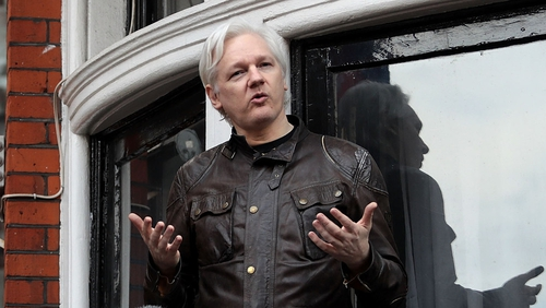 Julian Assange has been in the Ecuadorean embassy in London since 2012
