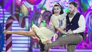 Karen and Bernard give it all they've got on Dancing with the Stars