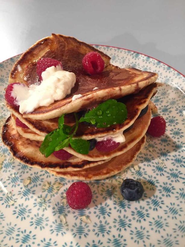 Brian McDermott's Classic Pancakes: Today