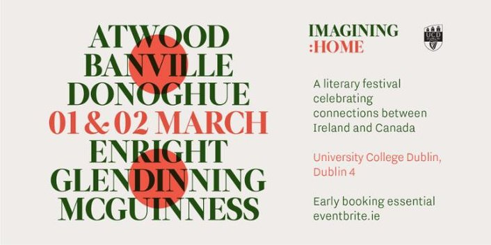 """Imagining: Home"", a literary festival celebrating Canada and Ireland"