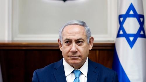 Benjamin Netanyahu has said he will continue to lead Israel