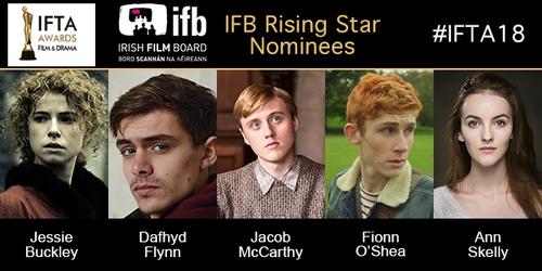 IFTA Rising Star Award nominees 2018