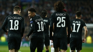 Paris St Germain have a two goal deficit to overcome
