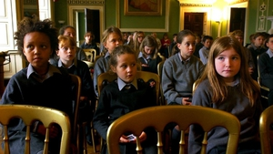 Children at Headfort School,